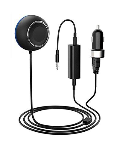 Wireless Bluetooth 4.1 Auto-Kits, Musik Empfänger Audio und Hands-Free Phone Call & MP3 Streaming mit kompatibel für BMW Mini Cooper Audi VW Mercedes (Boss-bluetooth-empfänger)