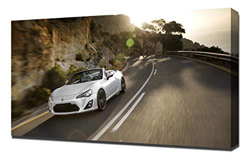 2013-Toyota-FT-86-Open-Concept-V3-1080 - Stampa Artistica su Tela - Stampa Tela Canvas