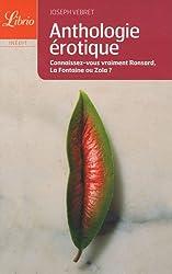 Anthologie érotique : De Louise Labbé à Pierre Louÿs