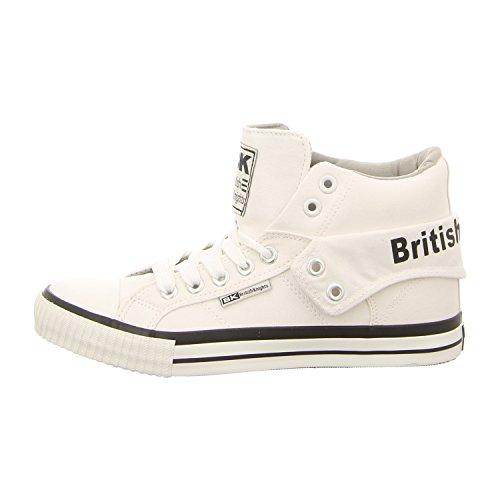 British Knights Unisex-Erwachsene ROCO Hohe Sneaker, Weiß (White/Grey 20), 46 EU