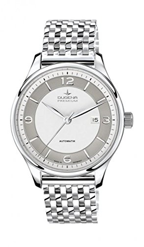 Dugena Mens Analogue Automatic Watch with Stainless Steel Strap 7090340