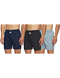 Amazon Brand - Symbol Men's Boxers (Pack of 3)