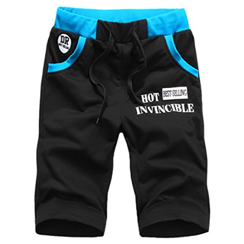 Mens Sweatpants Homme Luxury Shorts Black