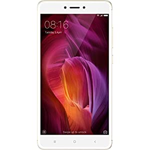 Xiaomi Redmi Note 4 Smartphone SIM doble 5,5'' 4GB 64GB 4G-LTE , Con Google Play, White / Gold [European version]
