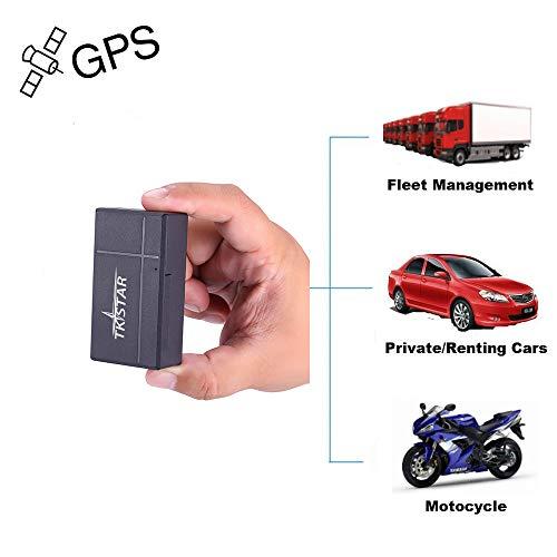 Mini GPS Tracker, TKSTAR Mini Echtzeit GPS Tracker Tragbare GPS Tracking Anti Verlust GPS Locator für Tasche Auto Verloren Finder mit APP für Andriod & IOS TK903B