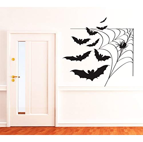 yangyueyu Coole Vinyl Tapete Wasserdicht Wandbild Happy Halloween Home Schlafzimmer Spezielle Decor ArtWandtattoos 57 * 57 cm