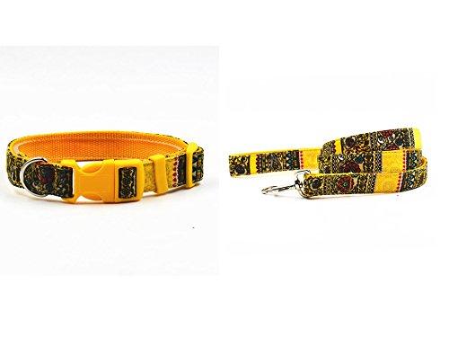 valoxintmbohemia-style-chihuahua-nylon-puppy-collar-leash-s-l-size-supply-pet-collar-lead-soft-nylon