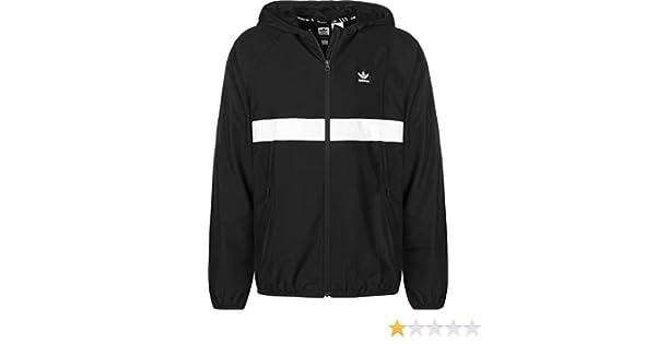 Adidas Damen Jacke 360 Größe L schwarz, weiß: Sport & Freizeit