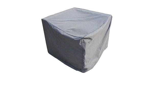 Copertura Mobili Giardino Rettangolari Coperture Impermeabile Anti-UV for Mobili da Giardino Rettangolari for Pranzo Tavoli e Sedie all/'Aperto Grigio Copertura Tavolo da Giardino Taglie Multiple