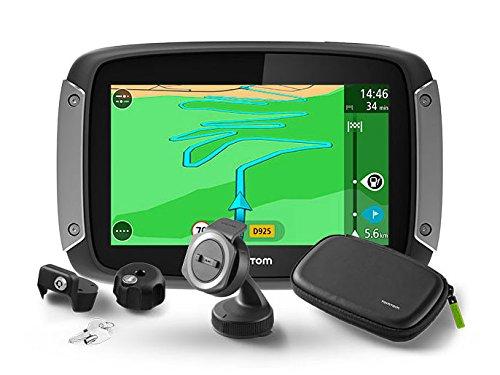 TomTom Rider 410 navigatore 10,9 cm (4.3') Touch screen Fisso Nero, Grigio, Argento 280