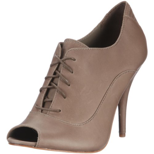 ESPRIT Collection CHARLEE LACE PEEPTOE O14516, Damen, Pumps, Beige (dark taupe 209), EU 40