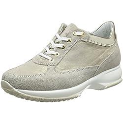 BATA 523306, Sneaker a Collo Alto Donna, Giallo, 36 EU