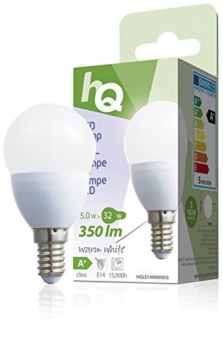 HQ – Ampoule Mini Globe E14 5 Watt LED 2700 k 350 lm