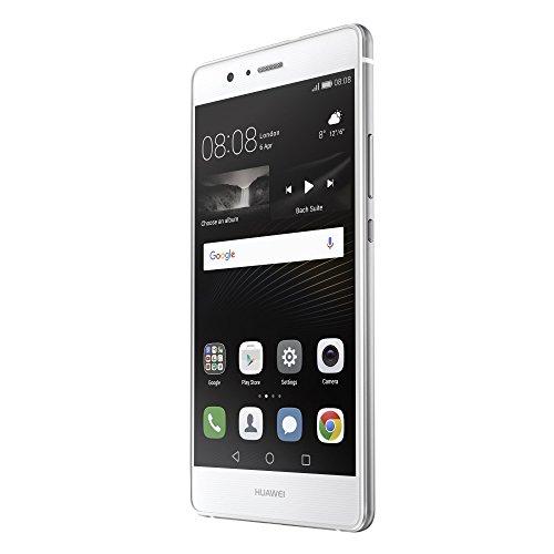 Huawei P9 lite - Smartphone de 5 2   4G  3 GB RAM  16 GB  c  mara de 13 MP  Android 6 Marshmallow   color blanco  versi  n europea