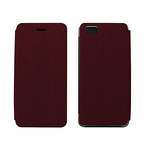 Guran® PU Leder Tasche Etui für Ulefone Future Smartphone Flip Cover Stand Hülle Case-wein rot