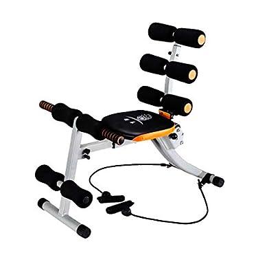 Ydsp Full Body Fitness Machine 7in 1Exercise Bike Abdomen/Back Machine Exercise Toning Machine by Über Lichter