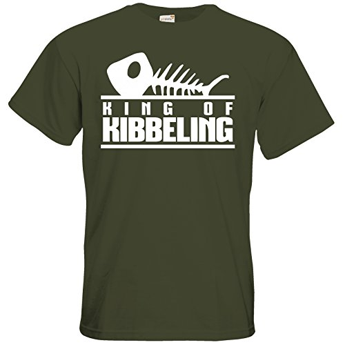 getshirts - Gronkh Official Merchandising - T-Shirt - Dead by Daylight - King of Kibbeling Khaki