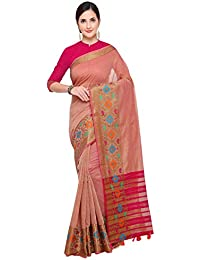 Pisara Women Kanjivaram Silk Cotton Saree