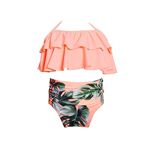 Beikoard Babykleidung 2pcs Kleinkind Baby Mädchen Rüschen Bademode Bikini Set Outfits Badeanzug (Für Niedliche Für Die Mädchen Outfits Schule)