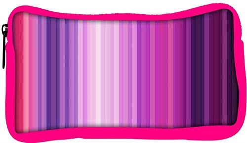 Snoogg Eco Friendly Canvas Multicolor Design Designer Student Pen Pencil Case Coin Purse Pouch Cosmetic Makeup Bag