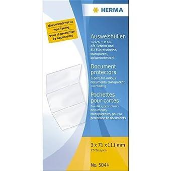 Herma-Klapp-Hülle 5044 Transparent 110X214Mm