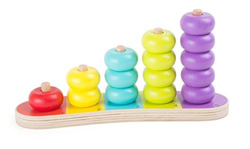 Small Foot - 10165 - Planche de Calcul - Disques Multicolores