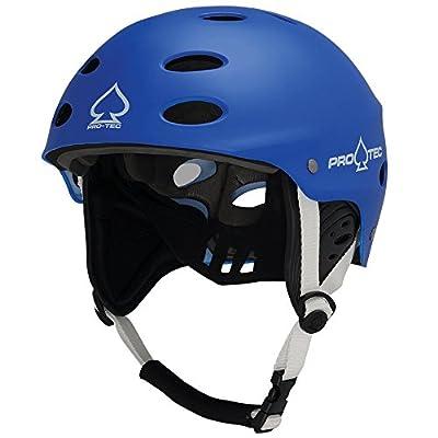 Pro-Tec Ace Wake Helm für Aktivität von Wasser, Unisex Erwachsene L blau (Matte Blue)