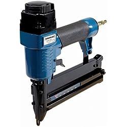 Silverline 633524 - Grapadora / clavadora neumática 50 mm Calibre 18