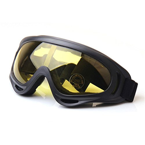Z P Unisex Adult Outdoor Sports Style Motorcycle Cycling Windproof Dustproof Ski Snowboard Hiking Equipment Anti reflection Shield Goggles UV400