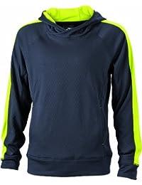JAMES & NICHOLSON Kapuzenpullover Sweatshirt Men's' Hooded - Sweat-Shirt À Capuche - Homme