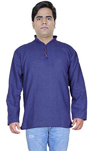 100-khadi-de-coton-mens-court-kurta-robe-de-mode-de-vtements-indiens