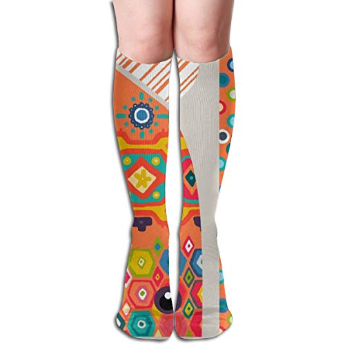 Giant Squid Cape 4 Yard Kit Comfortable Adult Knee High Sock Gym Outdoor Socks 50cm 19.7inch -