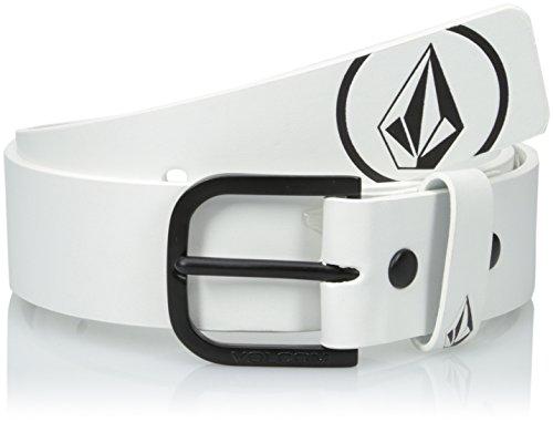 Volcom Redux - Belt for Man, Color White / Black, Size 36