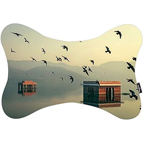 i FaMuRay Almohada del Cuello Almohada de Viaje Birds Bokeh Home India Jaipur Mahesh