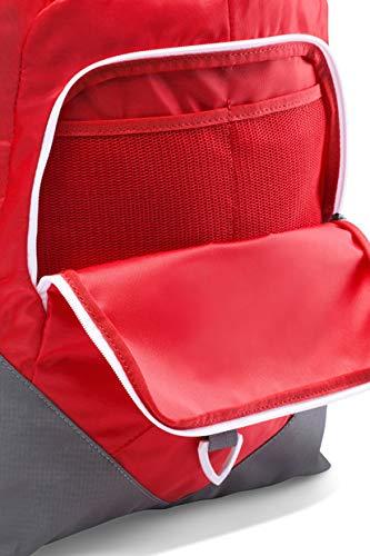Rojo Unisex Adulto Talla /única Red//Graphite 600 Under Armour UA Undeniable Sackpack Bolsa de Equipaje