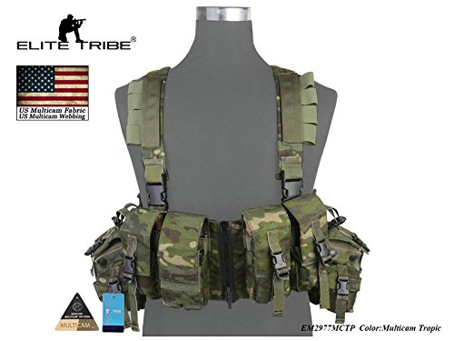 LBT 1961A-R Load Bearing Chest Rig Airsoft Jagd Kampfwesten Multicam Tropic