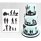 Royals Silhouette Cutter for Decorating Cakes (Family)
