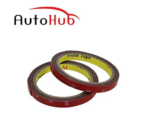Auto Hub Double Sided 3M Tape - Red  available at amazon for Rs.199