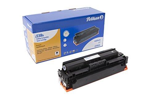 Pelikan Toner 4283740 ersetzt HP CF410A (für Drucker HP LaserJet Pro M452DN, M452DW, M452NW, MFP M477FDW, MFP M477FDN, MFP M477FNW, MFP M377) schwarz