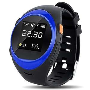 ZDY S888A Adulte/Personnes Agées Smart Watch Téléphone GPS/LBS/AGPS ...