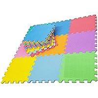 2486bf63566 Alfombra de Suelo Puzzle gomaespuma EVA. 9 Piezas. Tamaño de Cada Pieza