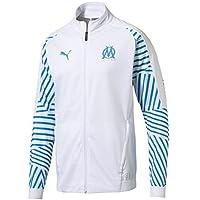 Puma Olympique de Marseille Stadium Jacket Without Sponsor Logo Veste Homme