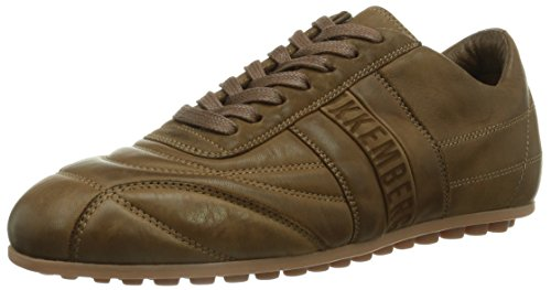 Bikkembergs 641021 Unisex-Erwachsene Sneakers Braun (Hellbraun)