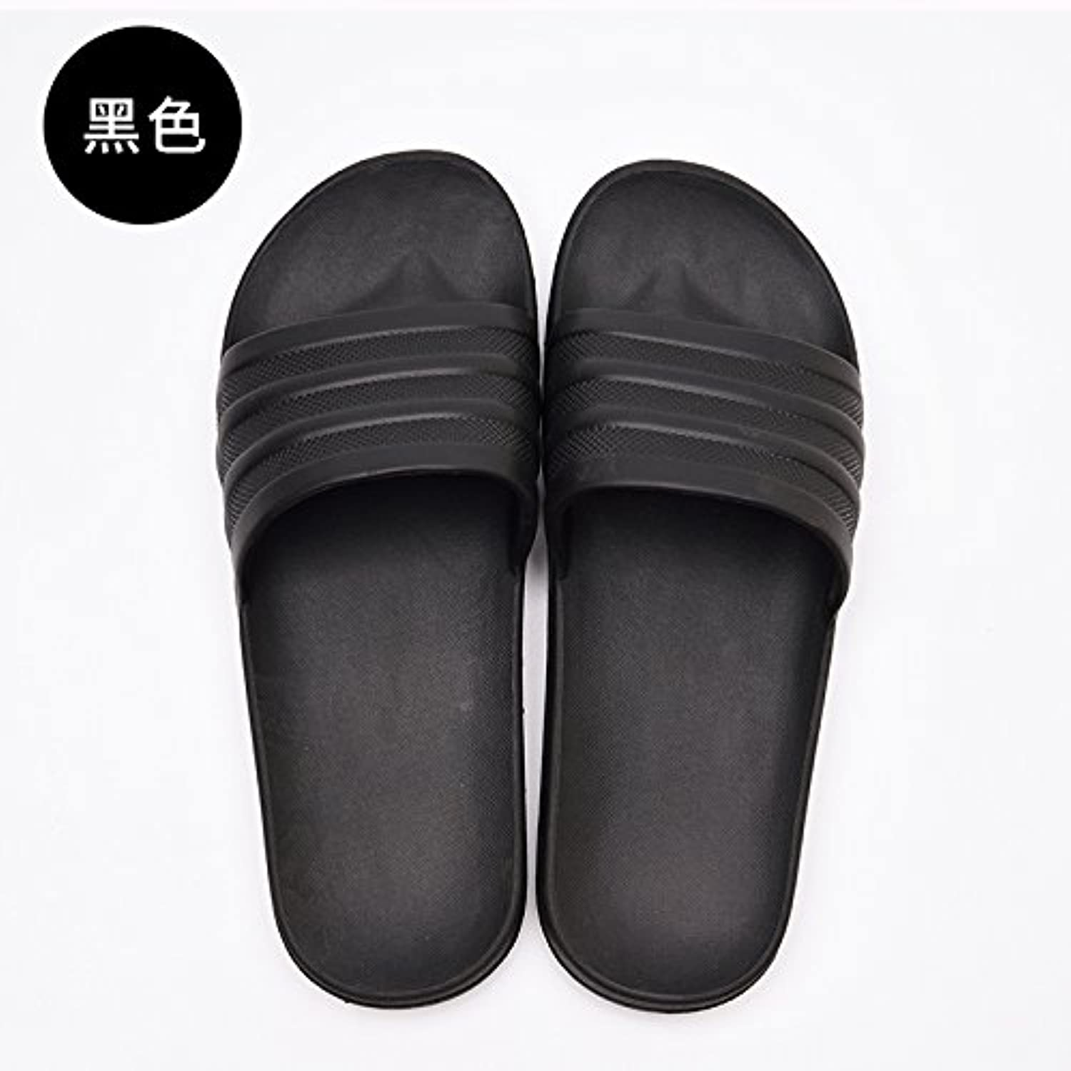 RUGBI-UE Summer home slippers,bathing,antiskid,cold slippers,couples indoor and slippers... outdoor wear men's cool slippers... and  Parent 7a3b4d