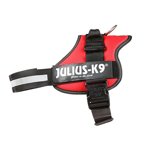 Julius-K9, Pettorina K9, Taglia: 1, Colore: Rosso