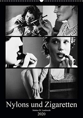 Nylons und Zigaretten (Wandkalender 2020 DIN A2 hoch): Das Porträt zweier moderner Frauen der Zwischenkriegszeit (Monatskalender, 14 Seiten ) (CALVENDO Menschen)