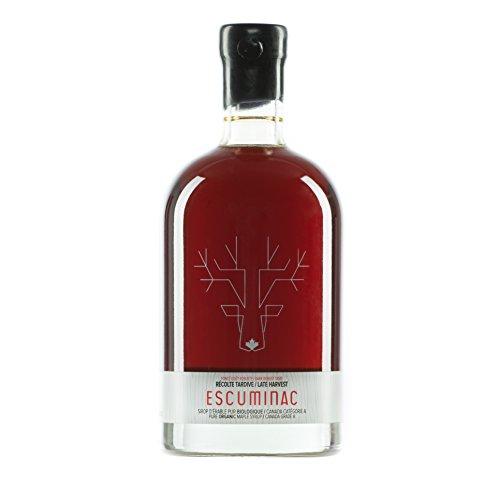 Escuminac Sirop d'Érable Récolte Tardive 500 ml