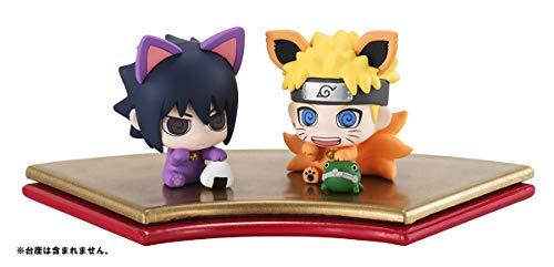 dcf457b5fe52 Unbekannt Naruto Shippuden Petit Chara Land Trading Figure 2-Pack Maneki  Kyubi Dattebayo!