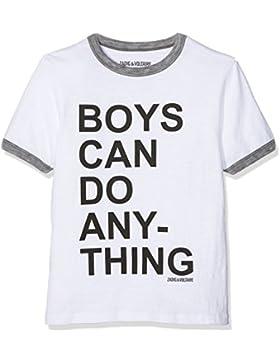 ZADIG&VOLTAIRE T-Shirt Manches Courtes, Camiseta para Niños