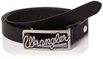 Wrangler Women's CTF Logo Belt, Black, M